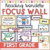 First Grade Focus Wall BUNDLE (aligned with 2015 Reading Wonders)