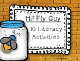 Reading Wonders First Grade Hi! Fly Guy 4.4 {10 Literacy A
