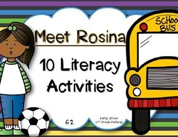 Reading Wonders First Grade Meet Rosina 6.2. {10 Literacy