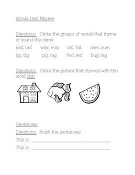 Smart Start, Reading Wonders First Grade Week 2