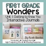 First Grade Wonders Unit 1 Interactive Journal Activities