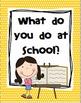 Reading Wonders First Grade- Unit 1 Week 1