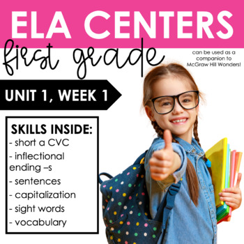 Reading Wonders First Grade Unit 1, Week 1