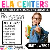 Reading Wonders First Grade Unit 1, Week 2