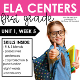Reading Wonders First Grade Unit 1, Week 5