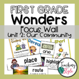 First Grade Wonders Unit 2 Focus Wall