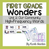 First Grade Wonders Unit 2 High-Frequency Activities