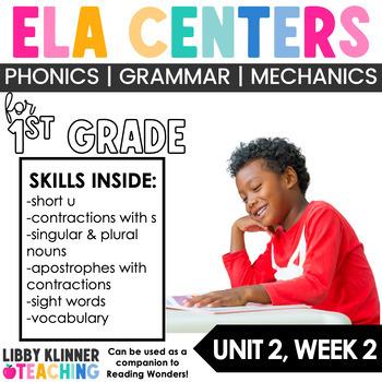 Reading Wonders First Grade Unit 2, Week 2