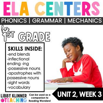 Reading Wonders First Grade Unit 2. Week 3