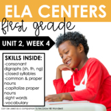 Reading Wonders First Grade Unit 2, Week 4