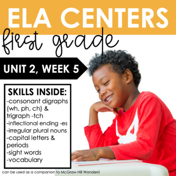 Reading Wonders First Grade Unit 2, Week 5