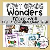 Reading Wonders First Grade Unit 3 Focus Wall