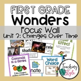 First Grade Wonders Unit 3 Focus Wall