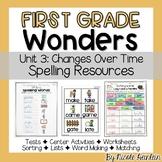 Reading Wonders First Grade Unit 3 Spelling Activities