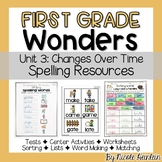 First Grade Wonders Unit 3 Spelling Activities