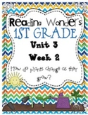 Reading Wonders First Grade- Unit 3 Week 2
