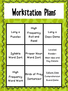 Reading Wonders First Grade- Unit 4 Week 3