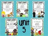 Reading Wonders First Grade- Unit 5  **Bundle**