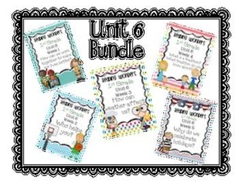 Reading Wonders First Grade- Unit 6  **Bundle**