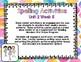 Reading Wonders First Grade Word Work / Spelling Unit 2 Week 5 Center Activities