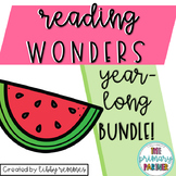 Reading Wonders First Grade YEAR LONG BUNDLE
