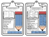 Reading Wonders Focus Sheets for Students Template