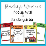 Kindergarten Reading Wonders Focus Wall