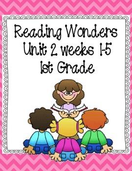 Reading Wonders Focus Wall Grade 1 - Unit 2 Weeks 1-5