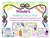 Wonders Reading Focus Wall 4th Grade
