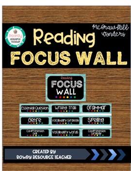 Reading Wonders Focus Wall Headers