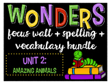Reading Wonders Focus Wall and Word Cards: Grade 4 Unit 2