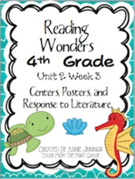 Reading Wonders Fourth Grade Unit 2 Bundle
