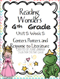 Reading Wonders Fourth Grade Unit 2 Week 2