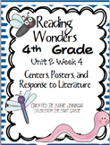 Reading Wonders Fourth Grade Unit 2 Week 4