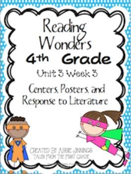 Reading Wonders Fourth Grade Unit 3 Week 3
