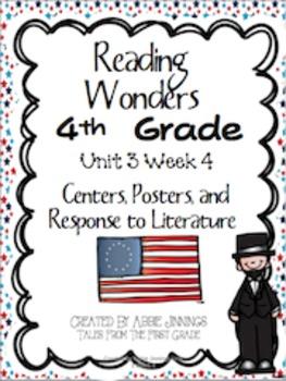 Reading Wonders Fourth Grade Unit 3 Week 4