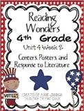 Reading Wonders Fourth Grade Unit 4 Bundle
