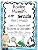 Reading Wonders Fourth Grade Unit 5 Bundle