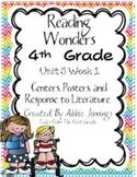 Reading Wonders Fourth Grade Unit 5 Week 1