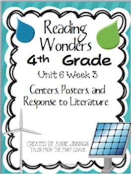 Reading Wonders Fourth Grade Unit 6 Bundle