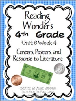 Reading Wonders Fourth Grade Unit 6 Week 4