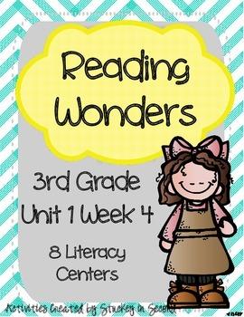 Reading Wonders Grade 3 Unit 1 Week 4