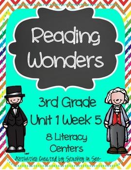Reading Wonders Grade 3 Unit 1 Week 5