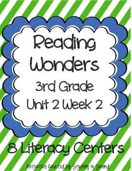 Reading Wonders Grade 3 Unit 2 Week 2