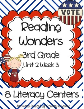 Reading Wonders Companion Pack Grade 3 Unit 2 Week 3