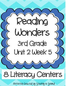 Reading Wonders Companion Pack Grade 3 Unit 2 Week 5