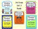 Reading Wonders Companion Pack 3RD GRADE Unit 3 Bundle