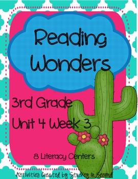 Reading Wonders Companion Pack Grade 3 Unit 4 Week 3