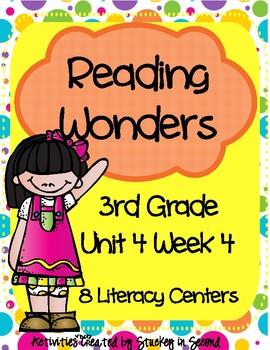 Reading Wonders Grade 3 Unit 4 Week 4