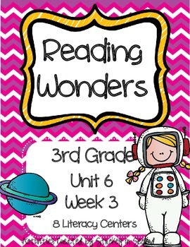 Reading Wonders Grade 3 Unit 6 Week 3